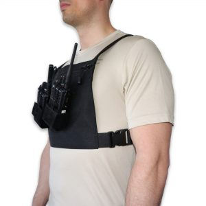 Chest Pack Double Radio 1004